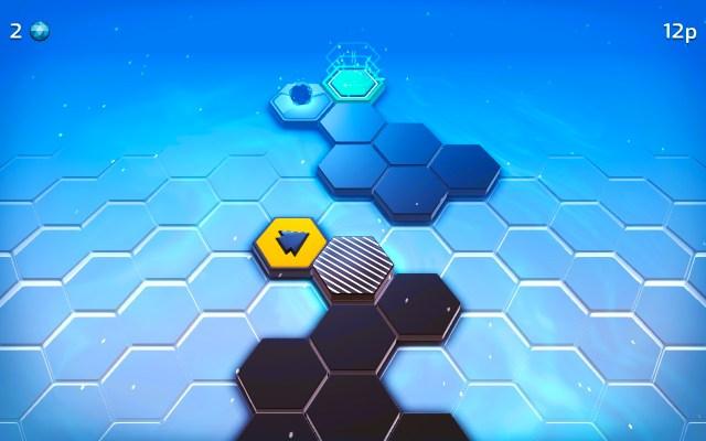 Hexaflip y diferentes obstaculos