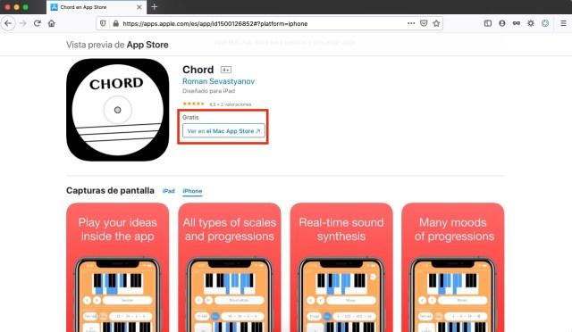 Chord app gratis por tiempo limitado