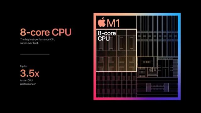 Contenido chip M1