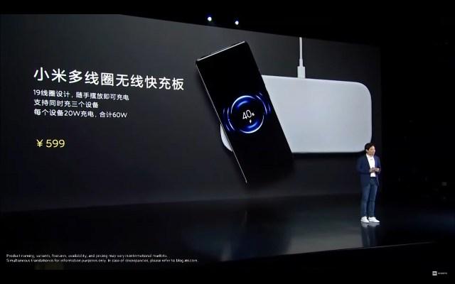 Nueva base de carga Xiaomi