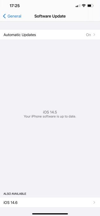 beta de iOS 14.6