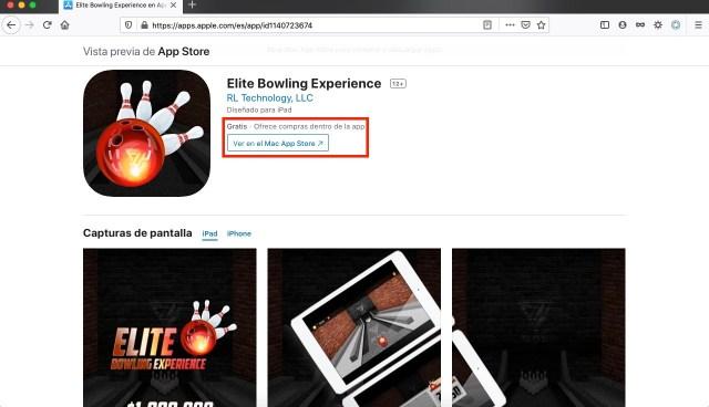Apps y juegos gratis Elite Bowling