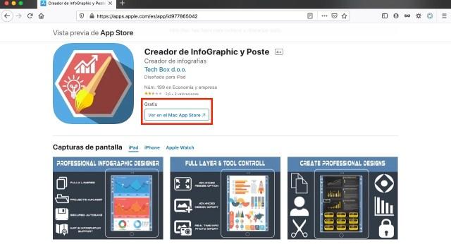 Creador de infografias apps y juegos gratis por tiempo limitado