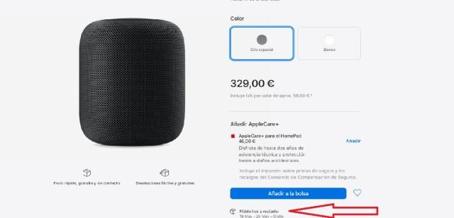 HomePod discontinuado aún se vende