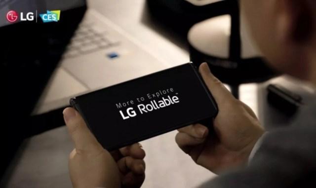 LG movil enrrollable