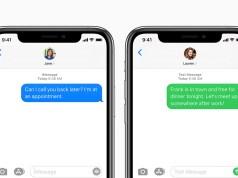iMessage y mensajes de texto