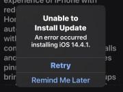 Cómo corregir el error de actualización para iOS y iPadOS