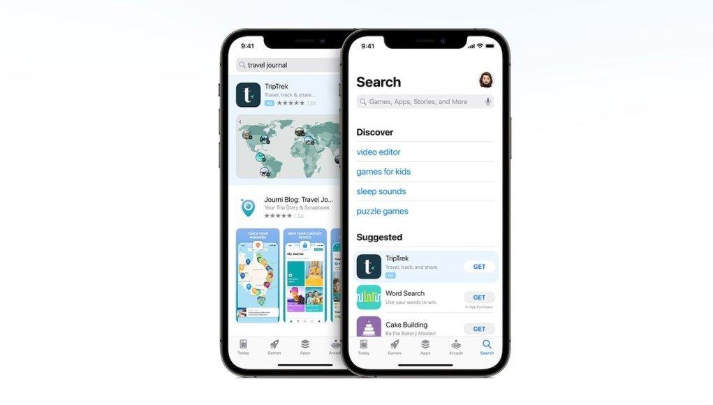 Los gerentes de Apple tenían un conflicto con los anuncios del App Store
