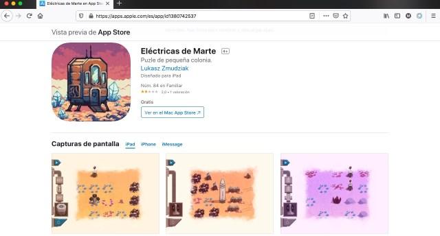 Apps y juegos gratis sobre el planeta Marte