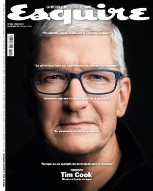 Esquire Tim Cook portada