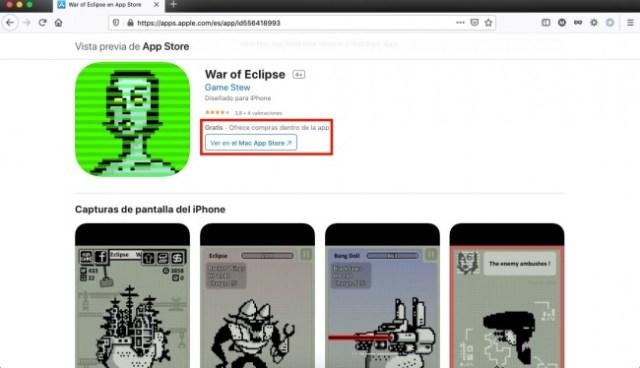 Apps y juegos gratis, War of Eclipse