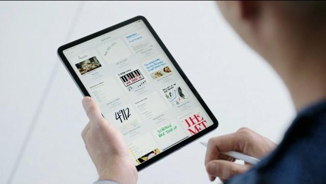 Notas rapidas iPadOS 15