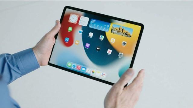 Nueva pantalla de inicio iPadOS 15