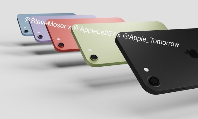 Renders de un nuevo iPod touch 2021