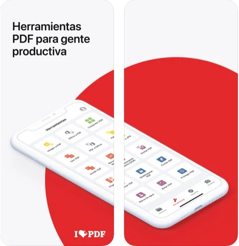 iLovePDF para iPhone o iPad