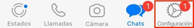 Configuracion de WhatsApp