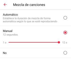 Mezcla de canciones Apple Music Android