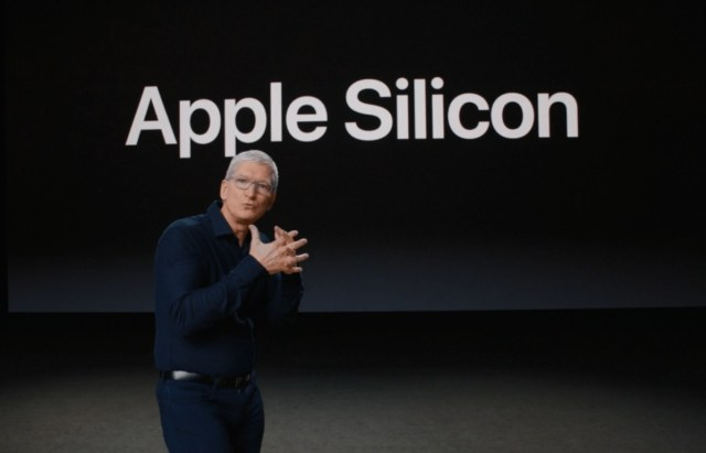 Tim Cook y Apple Silicon