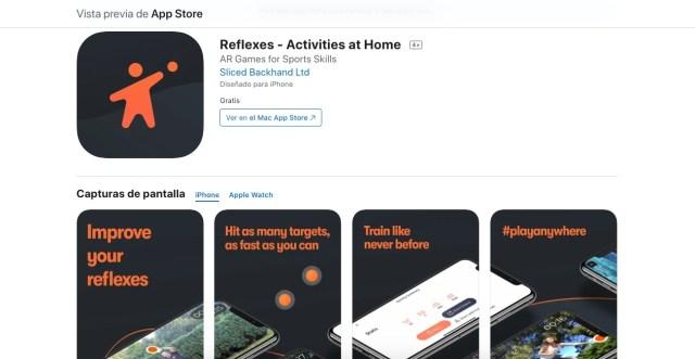 Apps y juegos gratis, Reflexes