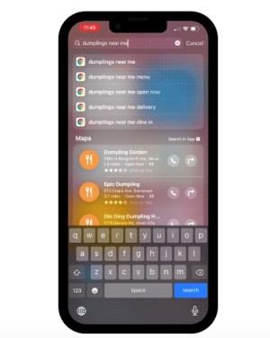 Google Chrome en Spotlight de iOS