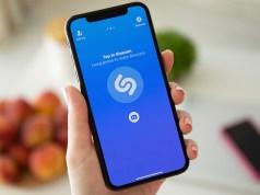 Shazam en un iPhone 12