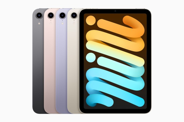 iPad mini 6 colores