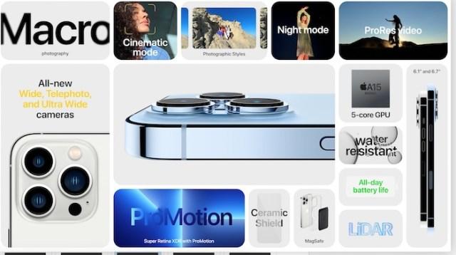 iPhone 13 Pro especificaciones