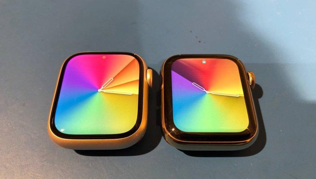Diferencias de tamaño Apple Watch Series 7 y 6