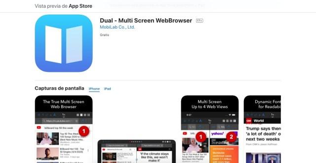 Dual, Multi screen WebBrowser
