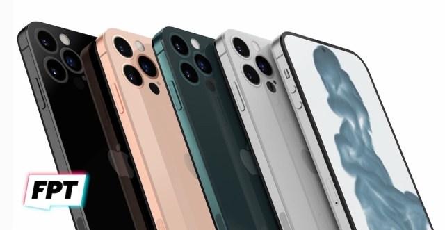 iPhone 14 con pantalla perforada