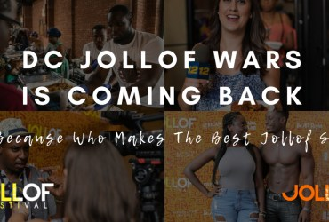 Enter to Compete For $1000 at the 2018 Jollof Wars DC