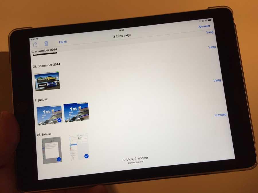 iOS 9 Guide: Sådan sletter du nemmest billeder fra din iPhone eller iPad