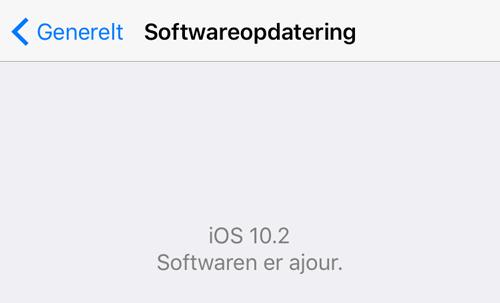 Tjek efter softwareopdateringer