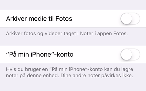 gem ikke kun noter på din iPad eller iPhone