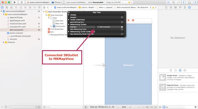 Getting user location in swift 4 - tutorial