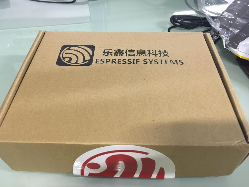ESP32 demo board packaging box