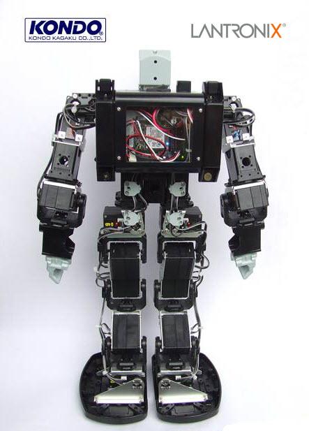 Lantronix PremierWave powered Humanoid Robot