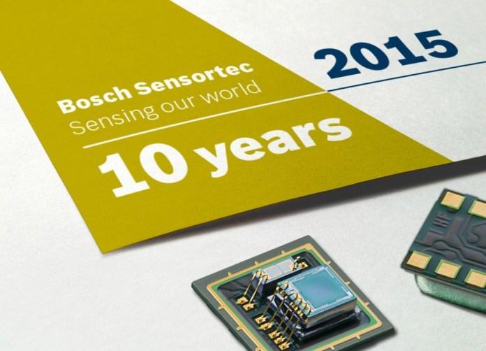 Bosch 10 Years of MEMS Sensors Innovation