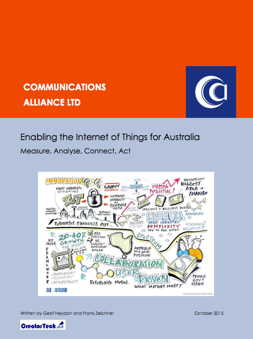 Enabling the Internet of Things for Australia