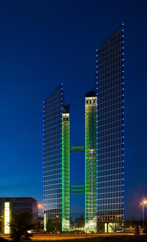 IBM Highlight Towers by Rainer Viertlbock