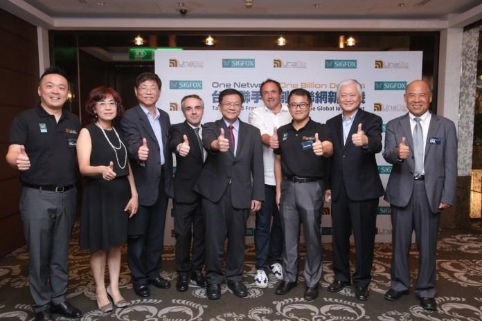 SigFox Unabiz Taiwan Launch