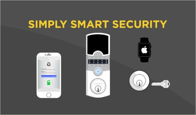 Ces 2017 Array Smart Lock Offers Simply Smart Security