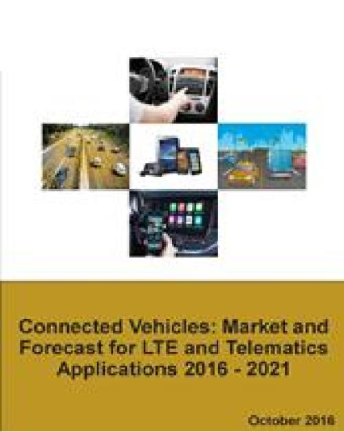 connected vehicles market forecast for lte