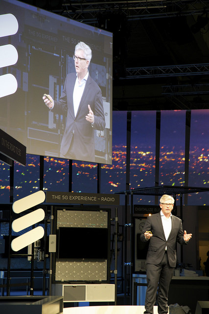 Ericsson Börje Ekholm at MWC