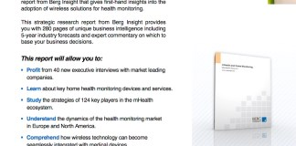mHealth and Home Monitoring
