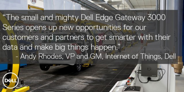 Dell Edge Gateway 3000 Series Quote