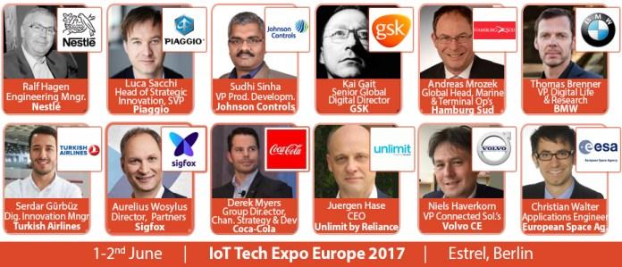 IoT Tech Expo BERLIN SPEAKERS