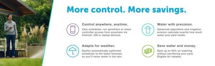 Rachio Sprinkler Controller