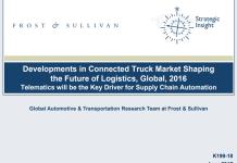 frost sullivan connected truck logistics