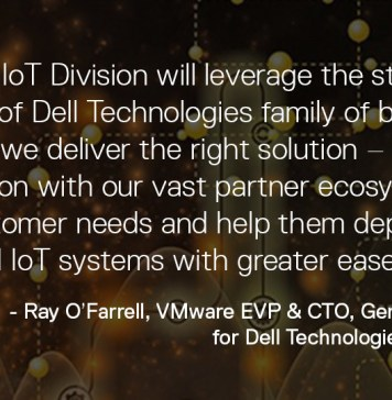 Dell Technologies IoT Division Ray Quote